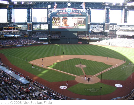 'Chase Field' photo (c) 2008, Nick Bastian - license: http://creativecommons.org/licenses/by-nd/2.0/