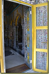 Jain Temple through the door