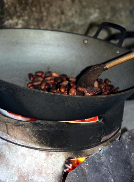 rostar kakaobönor