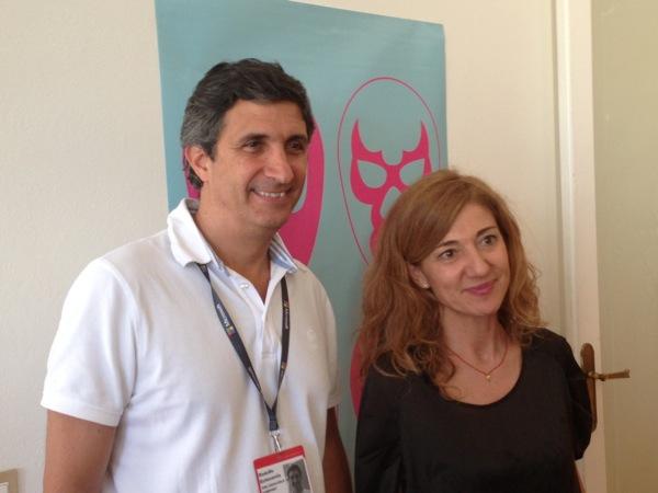 Rodolfo Echevarria y Marta Foncuberta Rueda