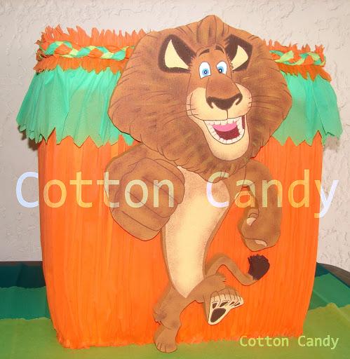 jpg caja de regalos madagascar decoraciones cotton candy decoraciones