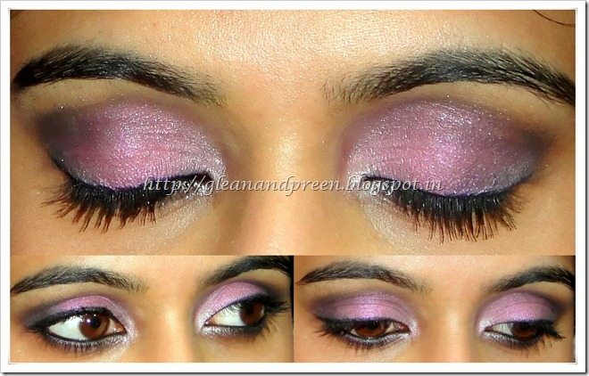 Pink Metallic Eyes