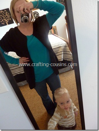 ruched sleeve cardigan (23.5)