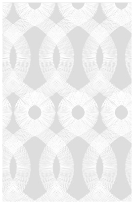 The flowing pattern on this paper is so soothing -- perfect for any bedroom or bathroom. (kremelife.com)