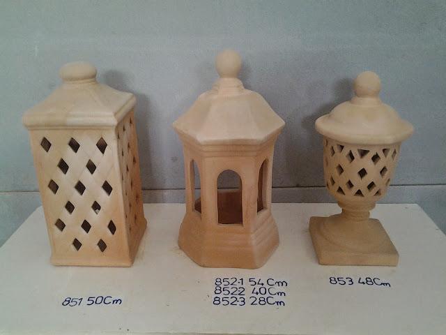 Terracota olleria faroles terracota lamparas de barro - Lamparas de ceramica ...