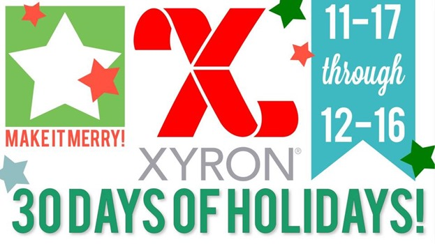 Xyron 30 Days of Holiday Projects