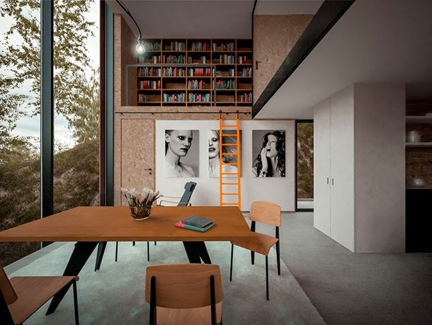 house for a photographer by hyde   hyde architects 7