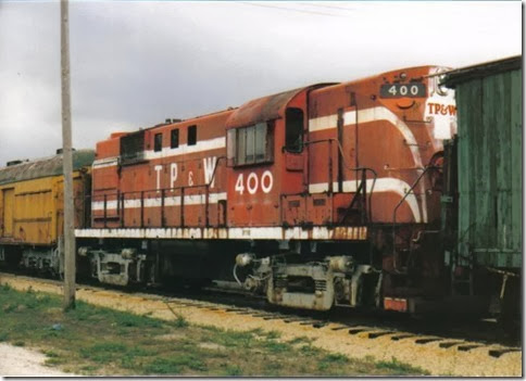 Toledo, Peoria & Western RS-11 #400 at the Illinois Railway Museum on May 23, 2004