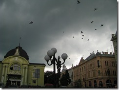 Театральна площа у Чернівцях
