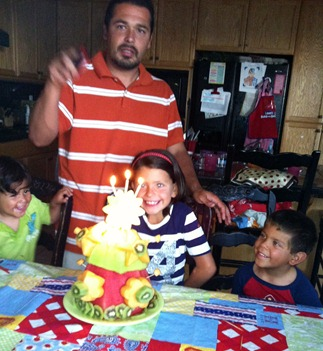 8.25.12 sweetie getting ready to blow out her candles
