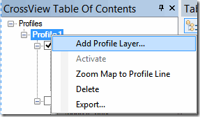 agregado pozos al perfil