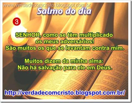 SALMO DO DIA 03