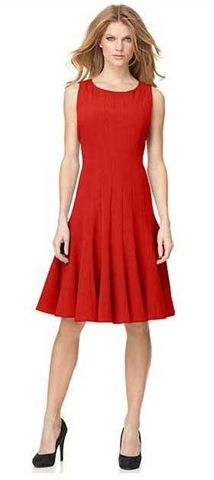 macys-red-dress