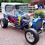 cool cars at Canada's Wonderland in Vaughan, Ontario, Canada
