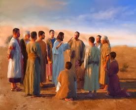 Jesus com discípulos 3