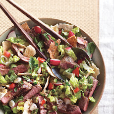 Lamb and Pita Salad