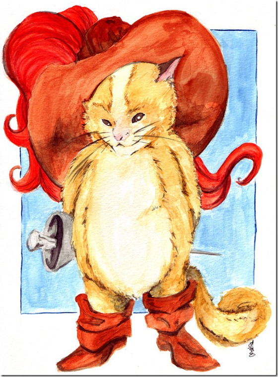 El Gato con Botas,El gato maestro,Cagliuso, Charles Perrault,Master Cat, The Booted Cat,Le Maître Chat, ou Le Chat Botté (73)