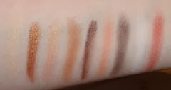 NYX Cosmetics Love In Paris  Merci Beaucoup Swatches