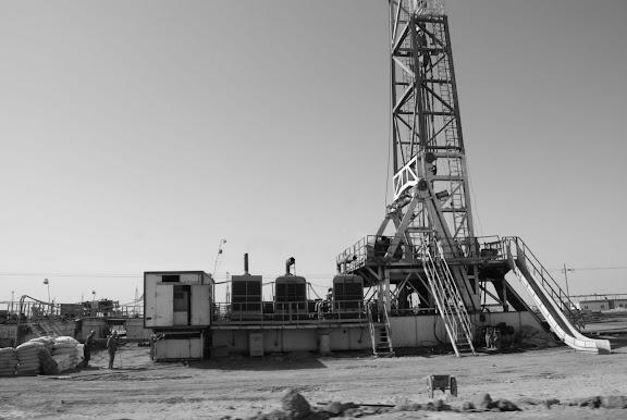 Route de Trufan - Puits de pétrole