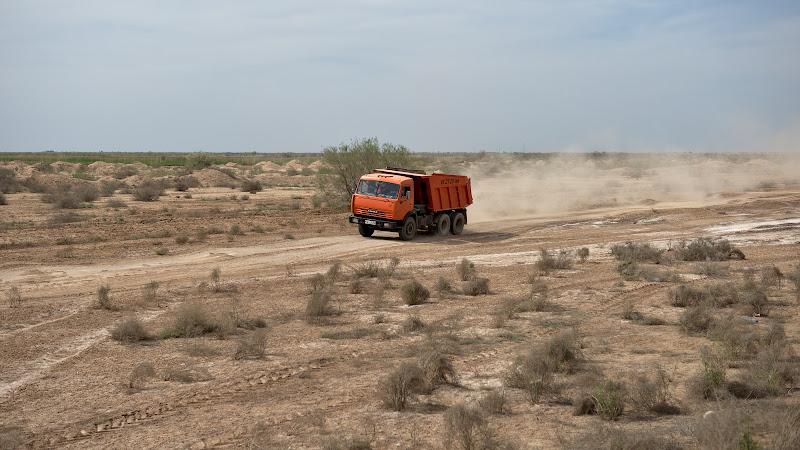 Granada-Dakar in varianta turkmena.