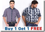 Myntra: Buy 1 Get 1 FREE + Extra 50% OFF On Roadster Shirts | 2 Shirts at Rs. 650