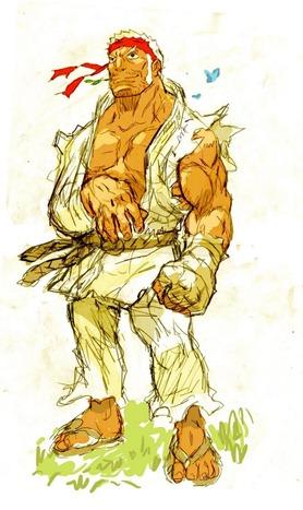 Street-Fighter-IV-Ryu-Gobi-Style