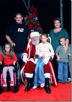 Koop Family Santa 2011
