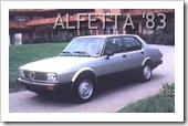 ALFA ROMEO ALFETTA 1983