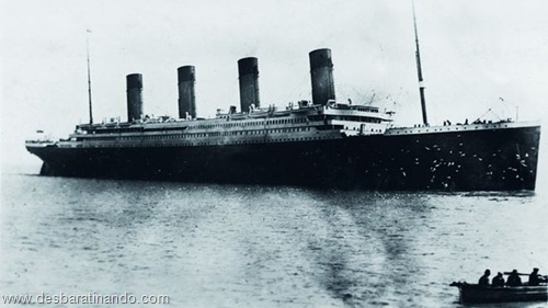 A última foto do Titanic batida pelo padre Francis Browne