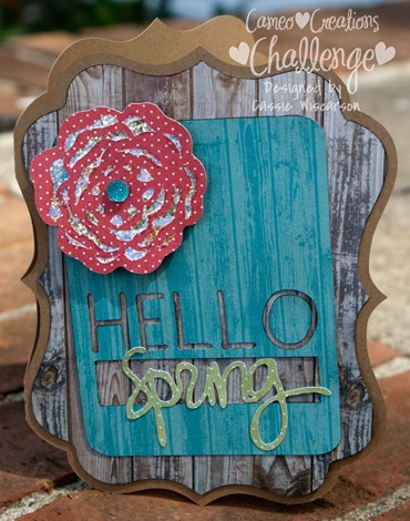CC Hello Spring Card