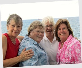 Karen France, Connie Pruitt, Nancy Hurley, Patience Burns