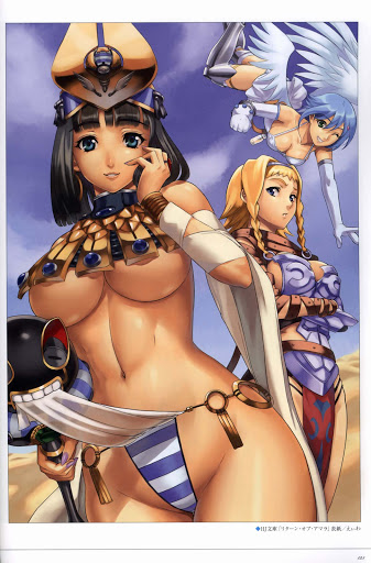 Menace Nanael Reina Queen's Blade Eiwa