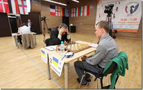 Ivanchuk - Ponomariov, 2nd Game (3rd Placing)