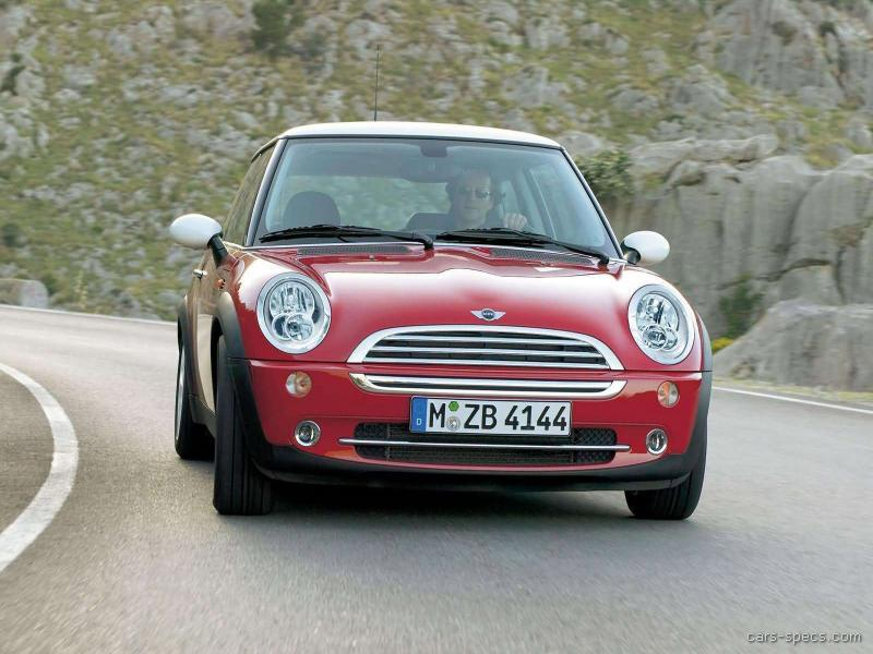 2004 mini cooper hatchback specifications pictures prices. Black Bedroom Furniture Sets. Home Design Ideas