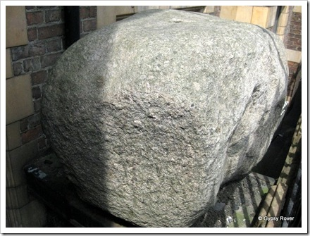 The Bulmer Stone. Darlingtons oldest land mark.