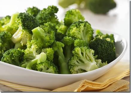 brócolis cozido