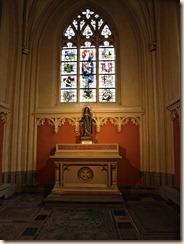 Hasselt: kathedraal Sint-Quintinus: kapel van Sint-Brigitta