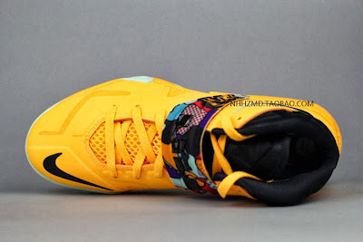nike zoom soldier 7 gr yellow pop art 4 07 Nike Soldier VII Coconut Groove aka Pop Art available at Eastbay