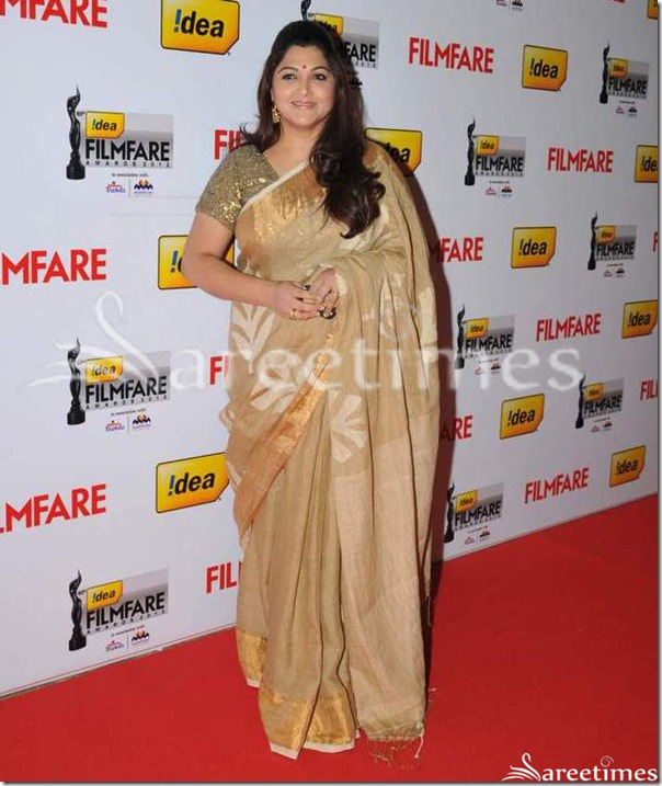 Kushboo_Cream_Silk_Saree
