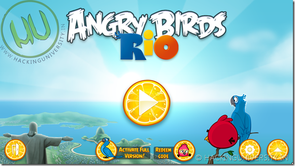 Angry Birds RIO Gold 2012 PC Game Download