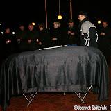 Stil protest om de dood van vertrouwen in Oude Pekela - Foto's Jeannet Stotefalk