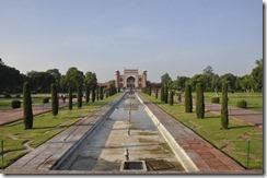 2013-07-14 agra 1 013facade arriere de l'entrée du Taj Mahal