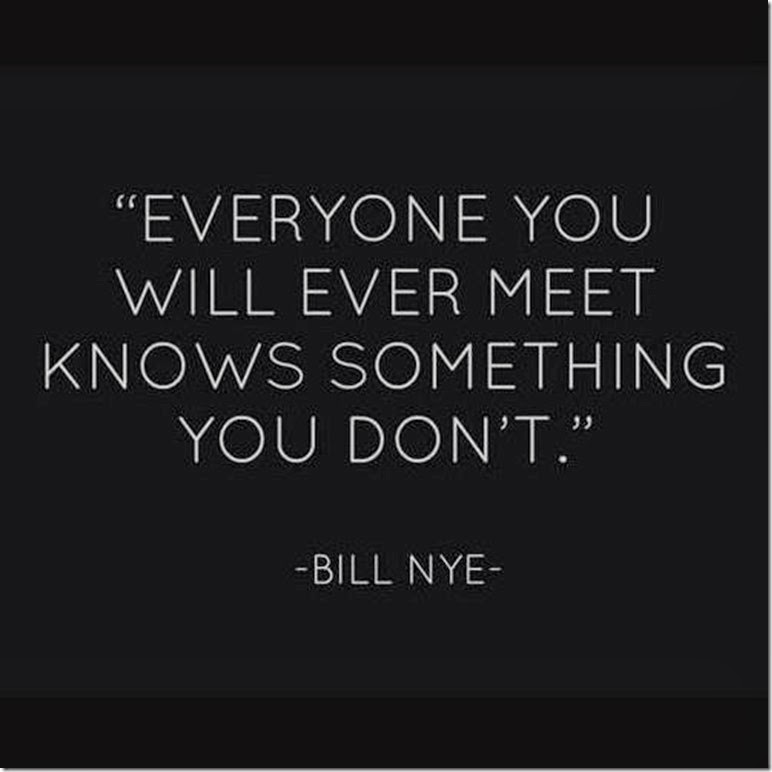 every one you meet is important