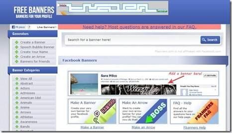 free banner facebook