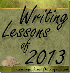 Writing Lessons of 2013
