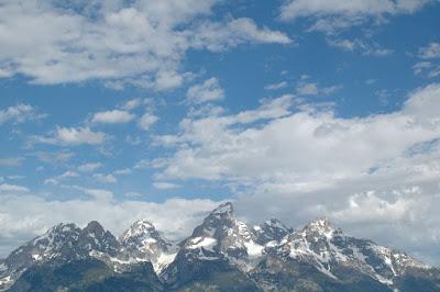 Grand Tetonの山々