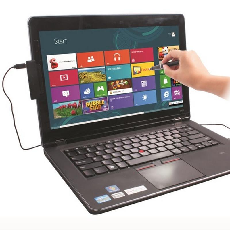 Biến laptop thường thành laptop cảm ứng bằng phụ kiện độc đáo