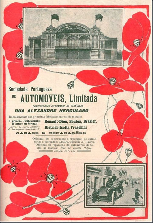 1907 Soc. Portuguesa de Automóveis