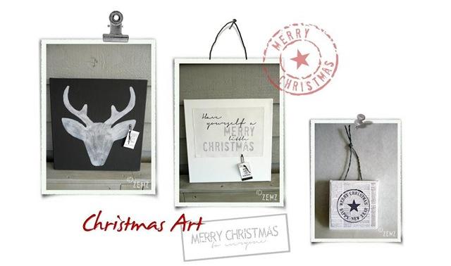 kerst schilderijtjes2.0