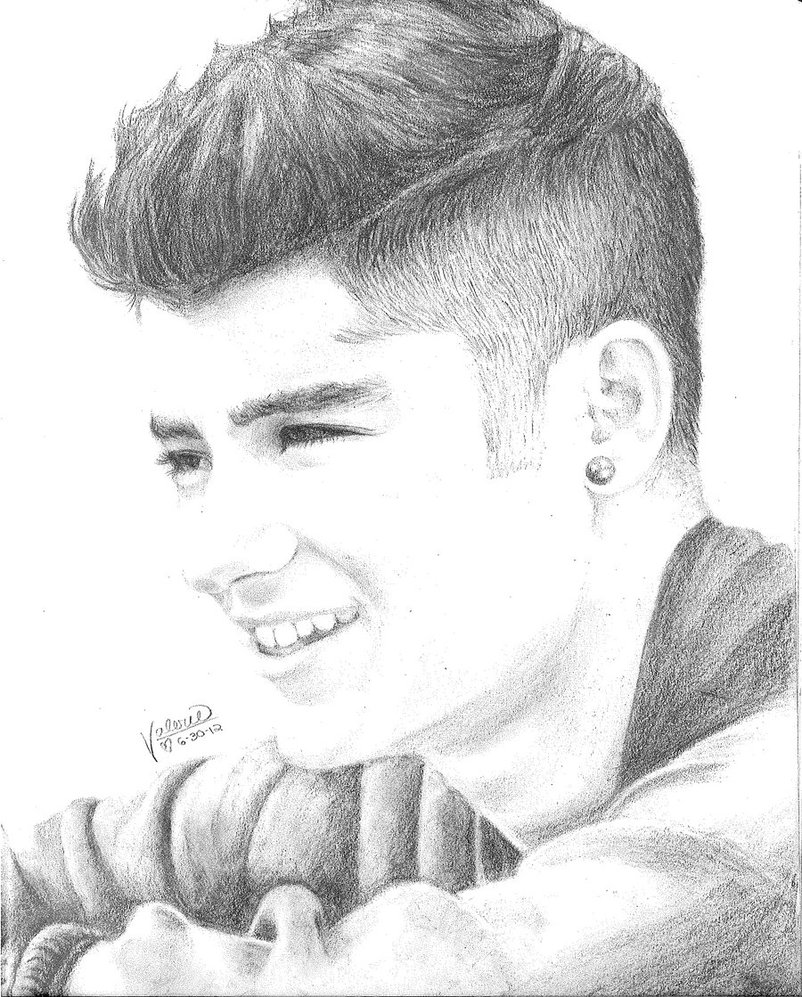 One Direction Drawing Zayn Images & Pictures - Becuo